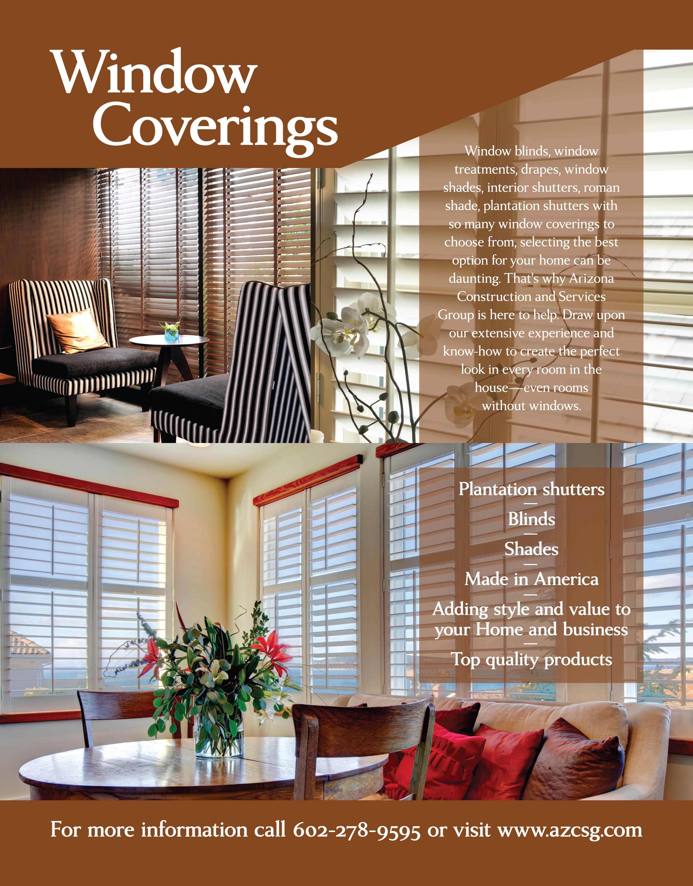 Window Coverings Residential Amp Commercial Phoenix Az
